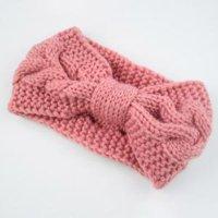 Fancyleo 2Pieces Knit Headband Crochet Headbands Plain Braided Head Wrap Winter Ear Warmer for Women Girls