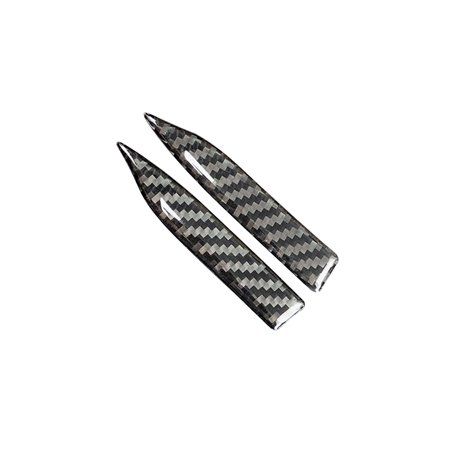 E90 Carbon Fiber - Carbon Fiber Rearview Mirror Anti-Rub Strips Protector For BWM E90 E60 F30 F34 F10 F20 x1 x3 x4 x5 x6 Car Anti-collision Strip