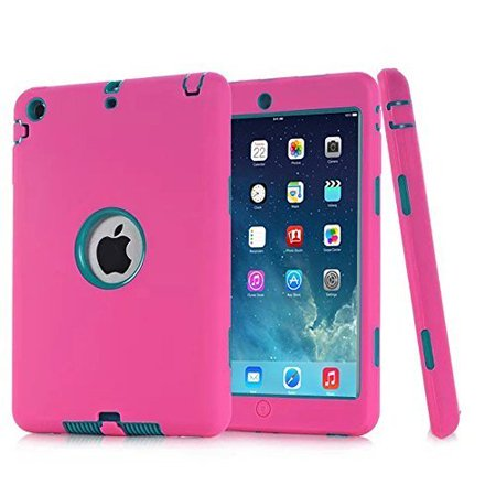 Spencer For Apple iPad 2 3 4 th Gen Kids Shockproof Rubber Hard Case Cover Lightweight Thin Impact Hybrid Protective