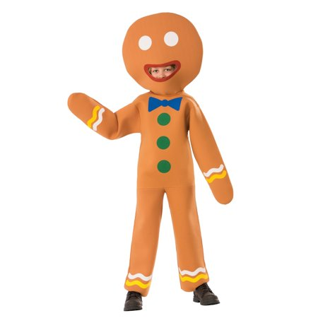 Gingerbread Man Child Costume - Male To Female Costume