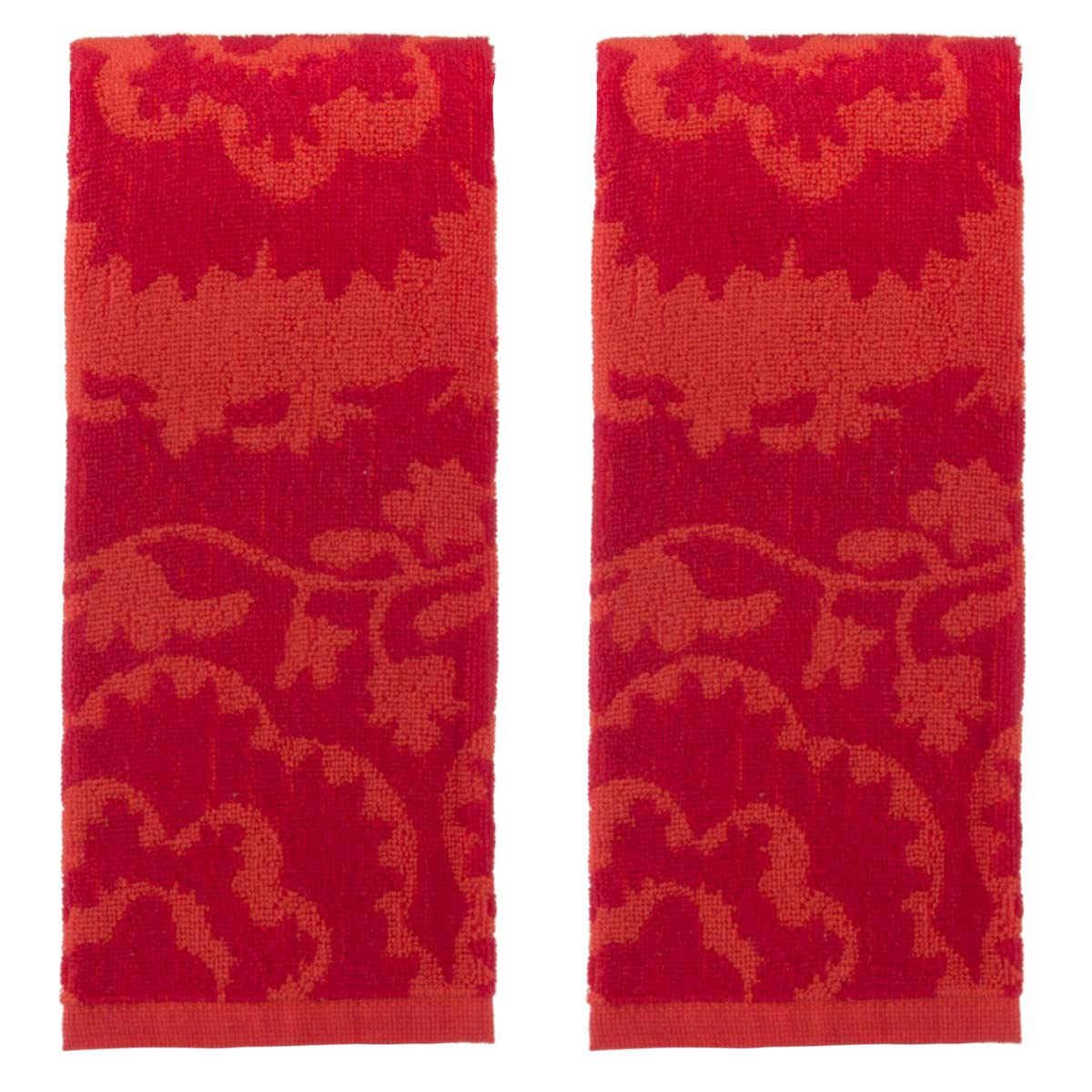 Attirant Oui By French Bull (2 Pack) Kitchen Towels Set Colorful Cotton Terry Hand  Towel Modern Dishcloths