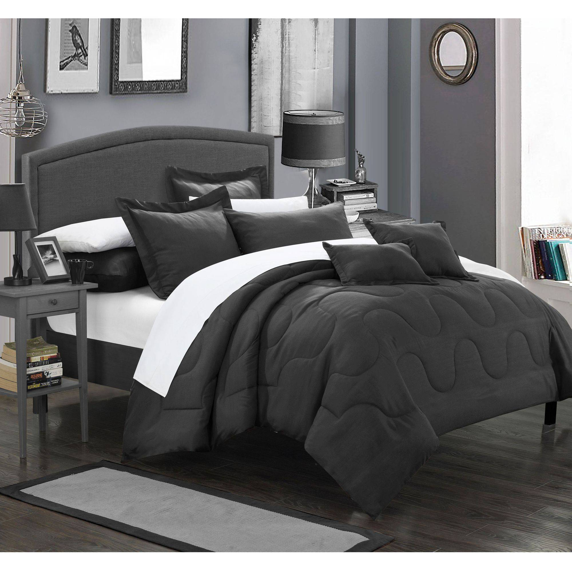 Chic Home 5-Piece Direllei Complete Bedding Ensemble