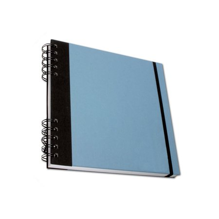 Studio Wirebound Book 5X8 Cadet Blue  80 Sheets   110Gsm By Cachet