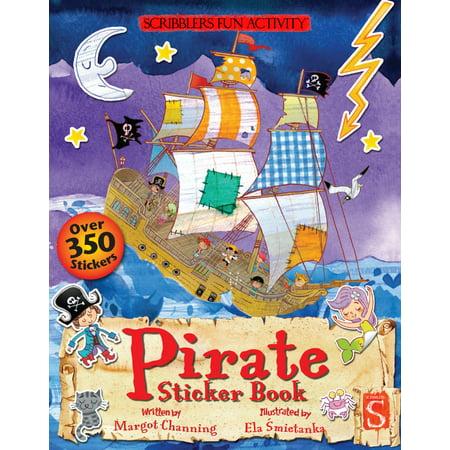 Pirate Sticker Book (Pirate Stickers)