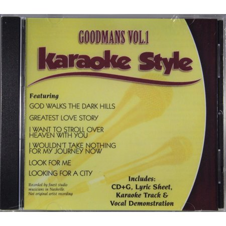 Musical Instruments & Gear Goodmans Volume 1 Christian Karaoke Style New Cd+g Daywind 6 Songs Cheapest Price From Our Site