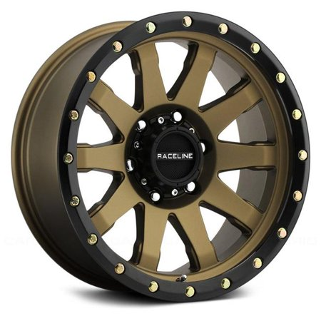 Raceline 4BZ2106019 20 x 10 in. 934BZ Clutch Bronze Wheel - image 1 of 1