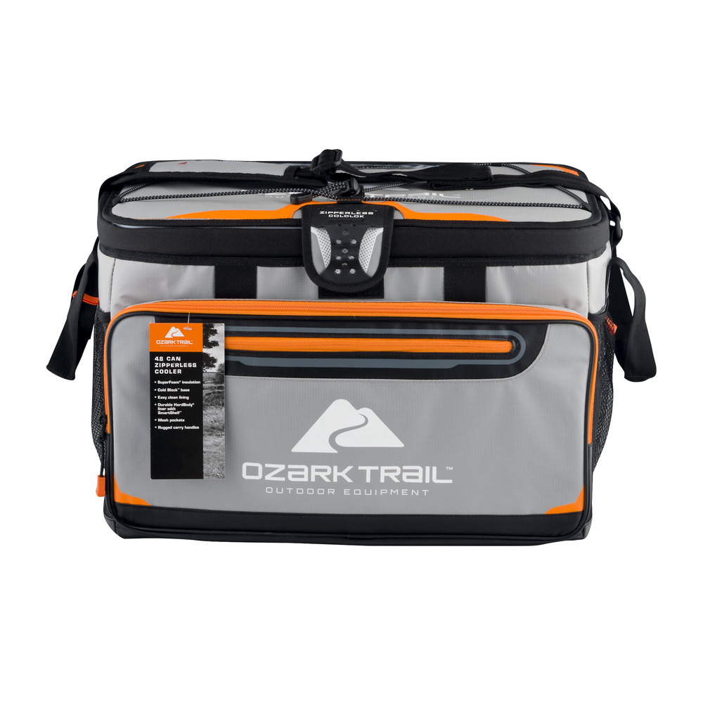 Ozark Trail 174 48 Can Zipperless Soft Sided Coolers Camping