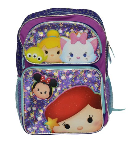 "Backpack - Tsum Tsum - Starry Tsum 16"" School Bag New W13595"