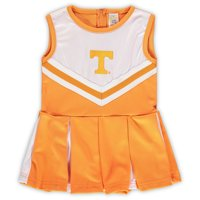 Tennessee Volunteers Girls Preschool & Toddler One-Piece Cheer Dress - Tennessee Orange