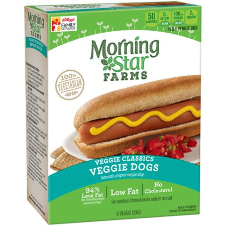 morningstar farms veggie classics veggie dogs 6 count 8 4 oz. Black Bedroom Furniture Sets. Home Design Ideas