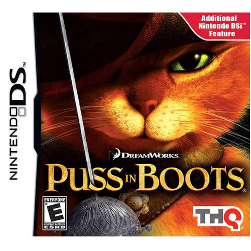 Puss In Boots (DS) - Pre-Owned