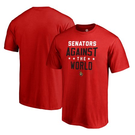 Ottawa Senators Fanatics Branded Against The World T-Shirt - -