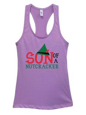 "39ca27e4f Product Image Women's Christmas Tank Top ""Son Of A Nutcracker"" Funny  Nutcracker Baseball Tee Large,"