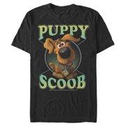 Scooby Doo Men's Scoob! Puppy Circle T-Shirt