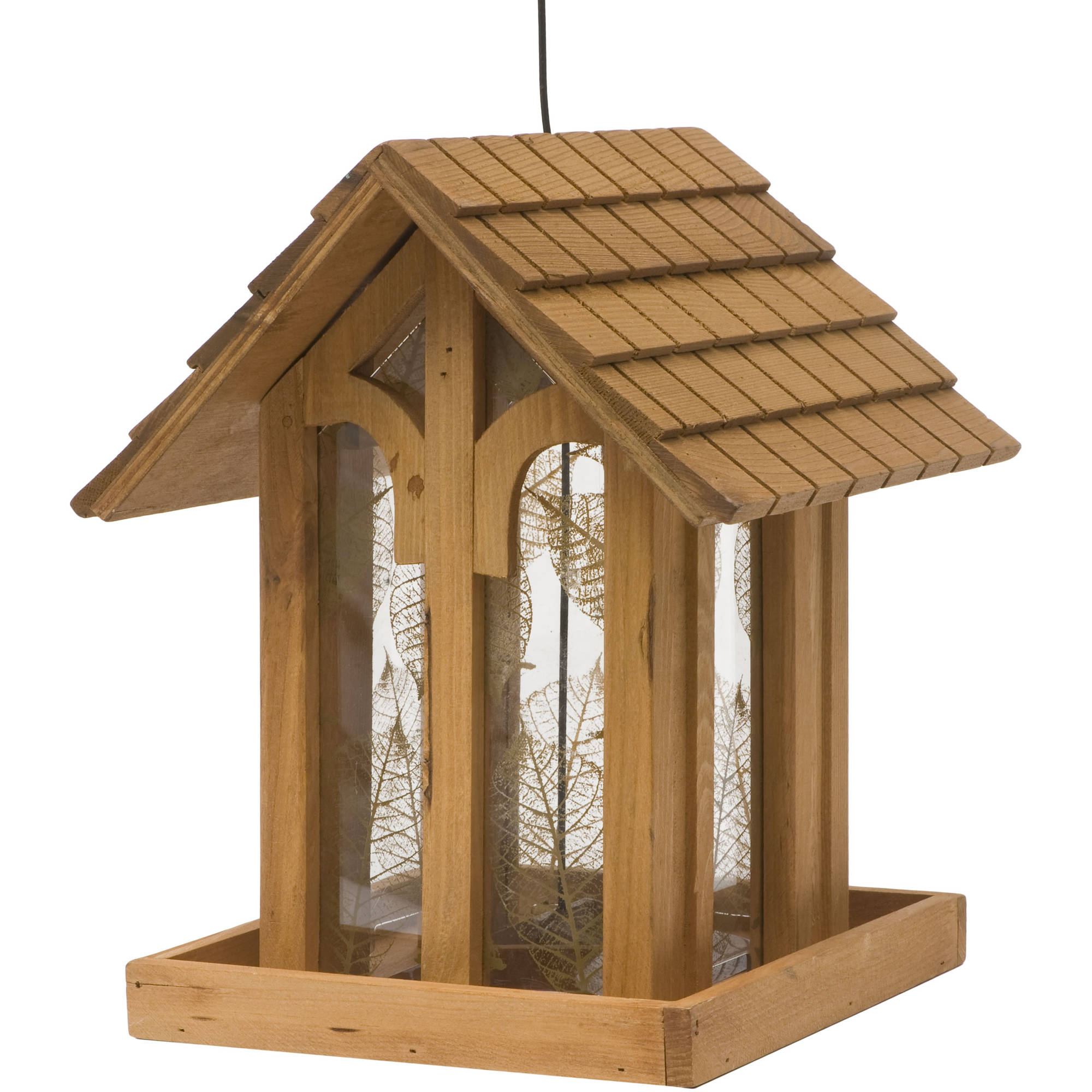 Birdscapes 3.6 Lb. Capacity Fresh Designs Mountain Chapel Birdfeeder by woodstream