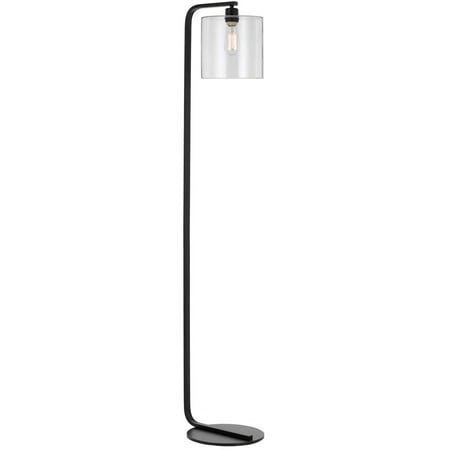 - AF Lighting Lowell Floor Lamp with Clear Glass Globe