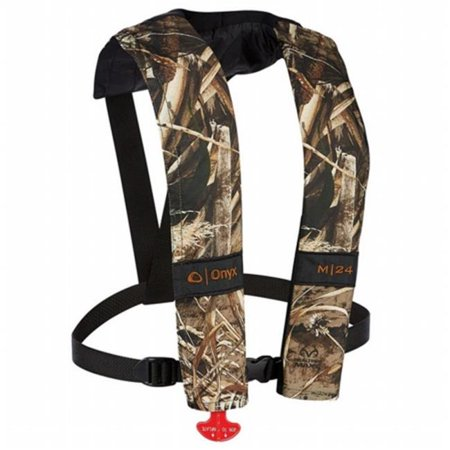 Onyx Outdoor 131000-812-004-15 M-24 Manual Inflatable Life Jacket PFD - Real tree Max-5 - Camo - image 1 de 1
