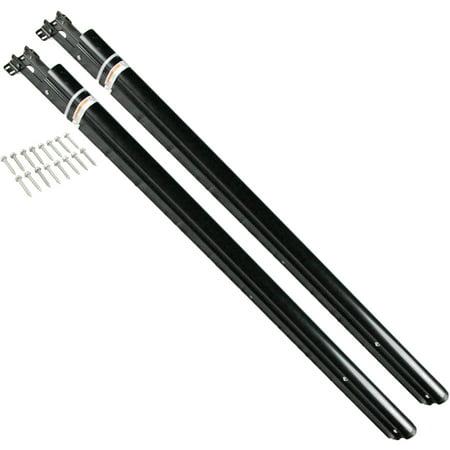 Lippert Components 351827 Solera Standard Manual Flat Hardware Kit  Black
