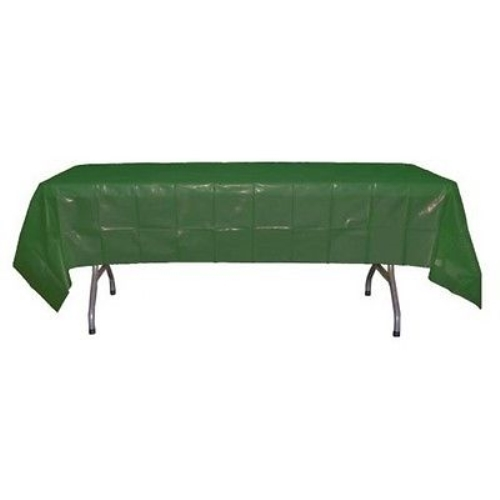 Exquisite Dark Green Rectangle Tablecloth 54 X 108