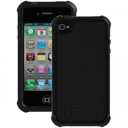 Ballistic Apple iPhone 4/4s Tough Jacket Series Case - Black