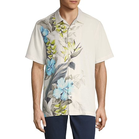 11dac36419f267 Tommy Bahama - Garden of Hope and Courage Camp Shirt - Walmart.com