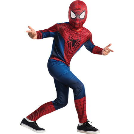 Childs Spiderman The Amazing Spider-Man 2 Movie Costume Boys Large 12-14
