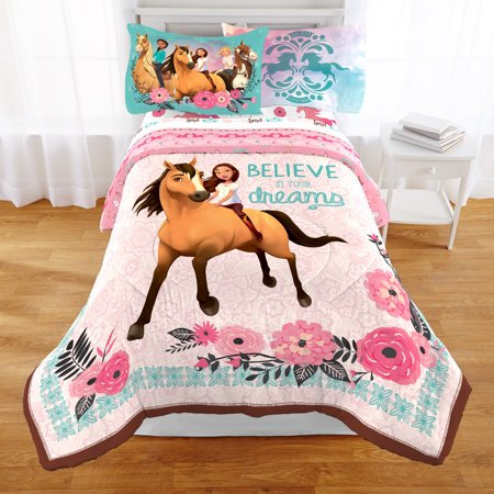 DreamWorks Spirit 'Giddy Up' Twin Kids Bedding Comforter, 1 Each
