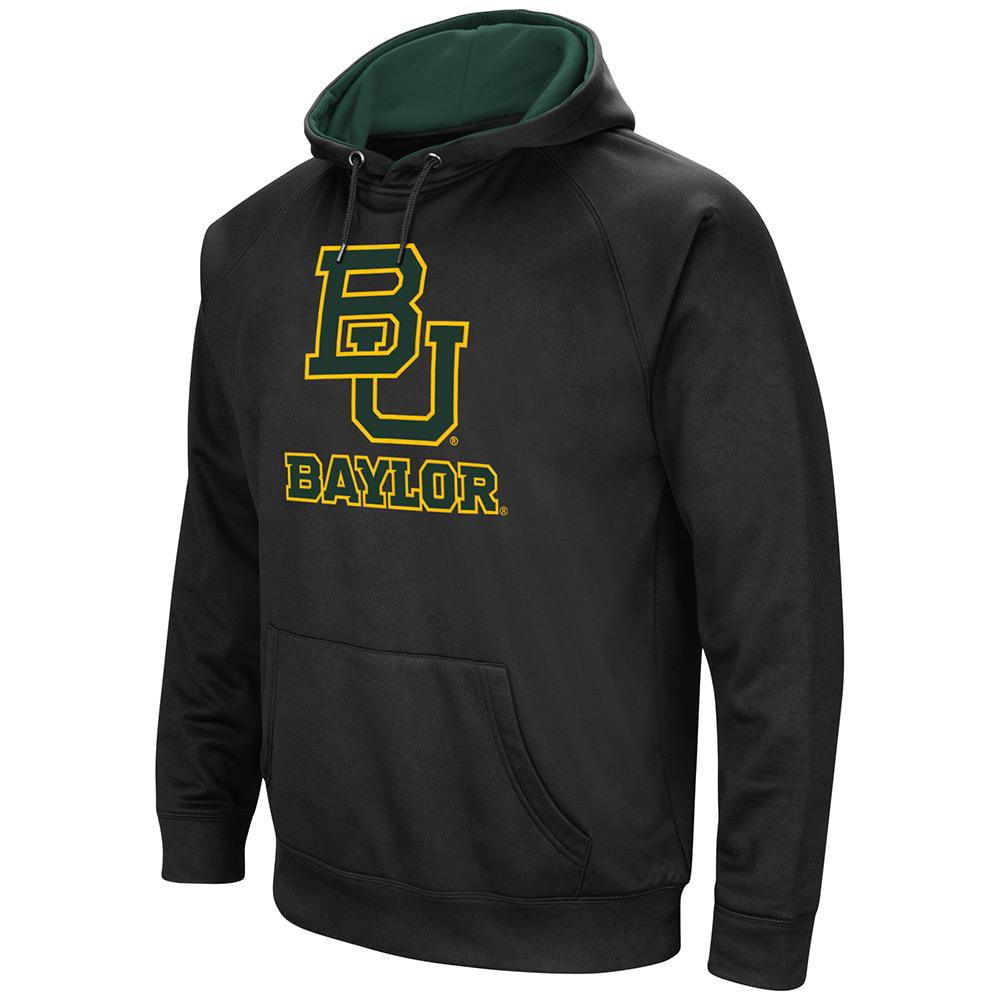 Mens NCAA Baylor Bears Black Pull-over Hoodie