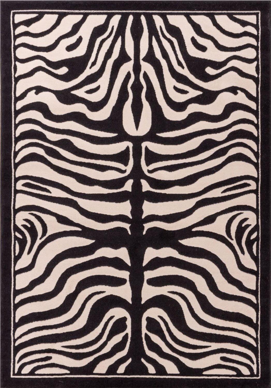 Large 8x11 White And Black Zebra Rug Zebra Rugs For Living