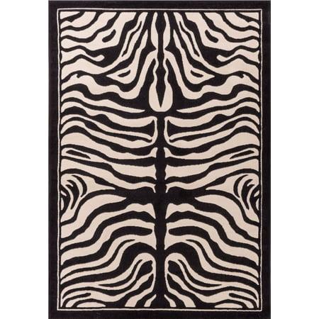 Large 8x11 White And Black Zebra Rug Rugs For Living Room Animal Print 8x10