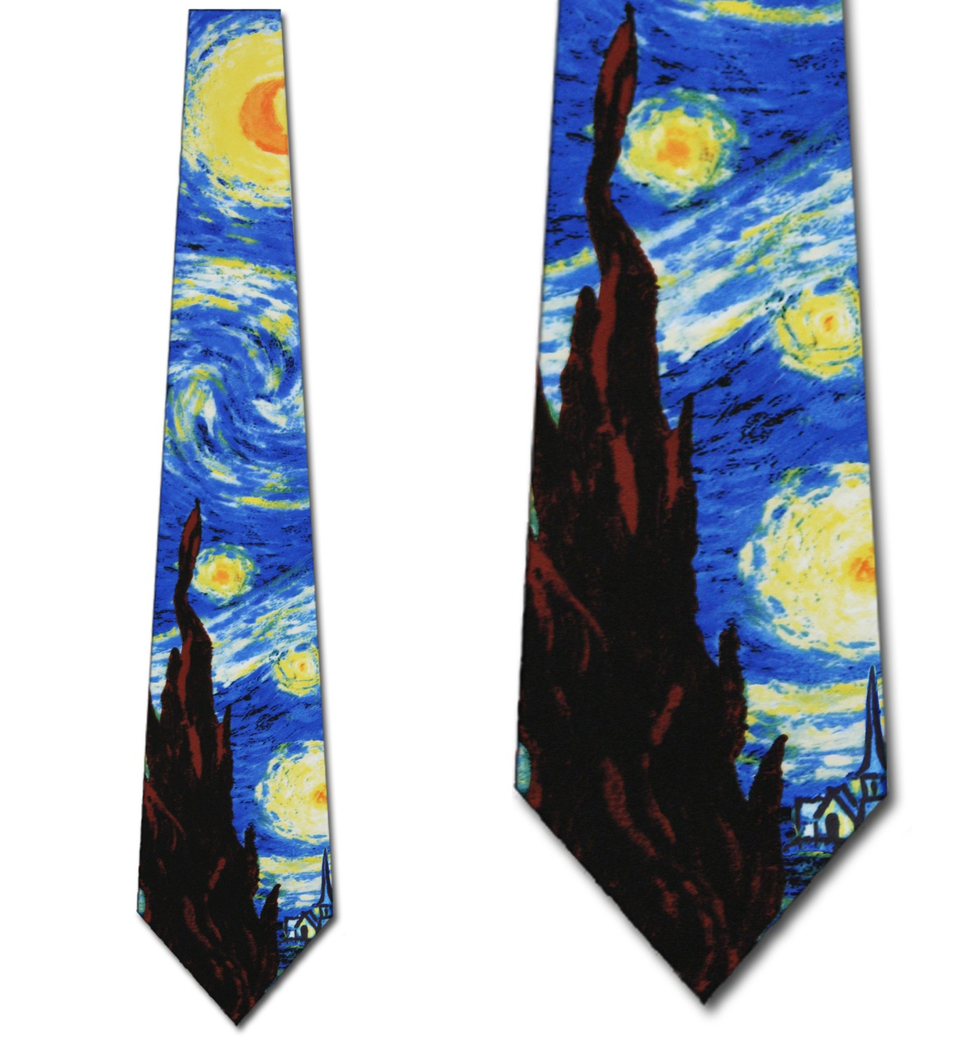 The Starry Night Necktie Mens Tie