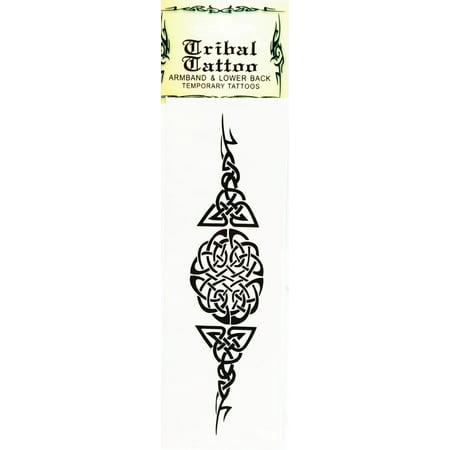 Temporary Tattoo  Armband & Lower Back Tribal Tattoo (Strength)](Girly Back Tattoos)