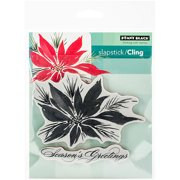 """Penny Black Cling Rubber Stamp, 5"""" x 7.5"""" Sheet, Red Star"""