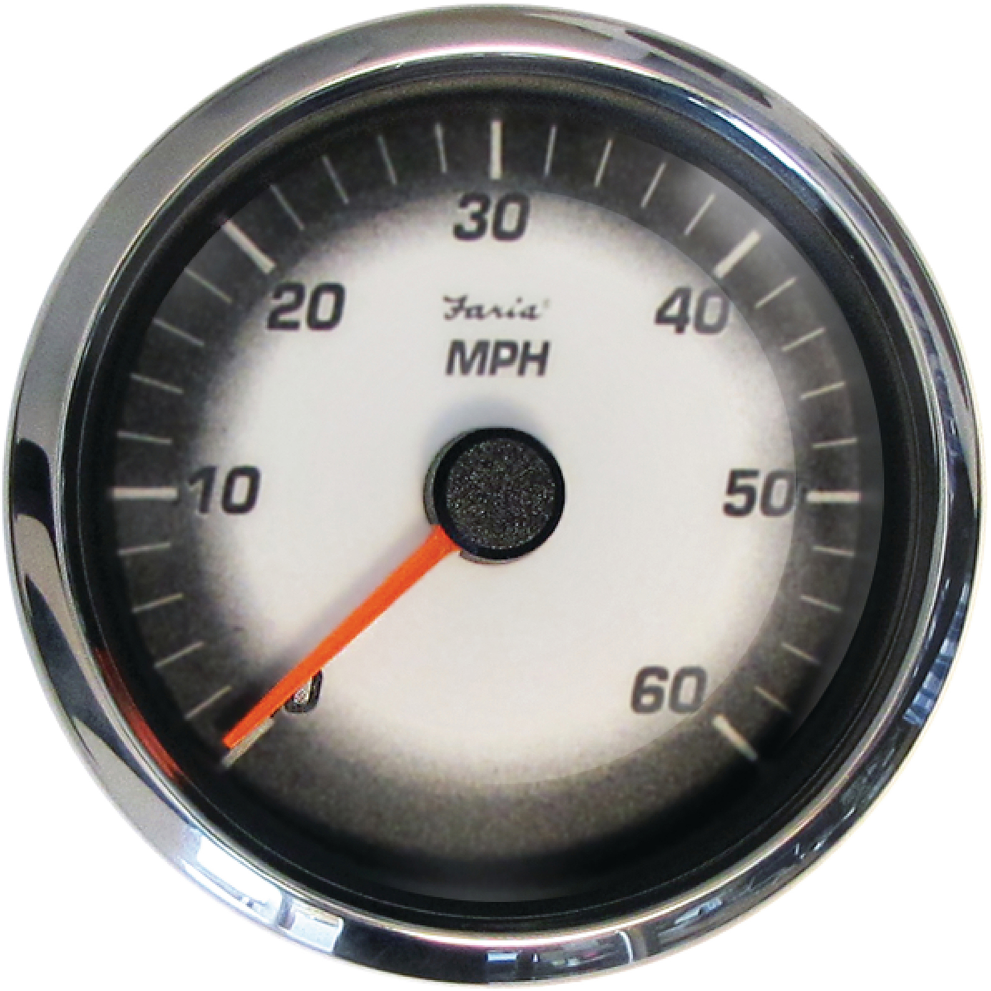 "Faria Digital Black Fade 4"" Gauge, Speedometer, 60 MPH/100 KPH, MG1000"
