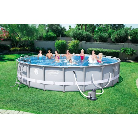 Coleman Power Steel 20 39 X 48 Frame Swimming Pool Set