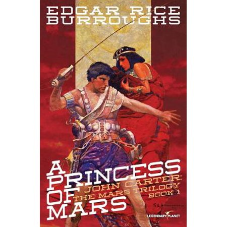 A Princess of Mars : 100th Anniversary Black and White Illustrated Edition
