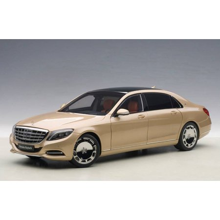 Mercedes Maybach S Class S600 Champagne Gold 1 18 Model Car By Autoart