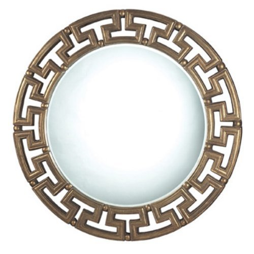 Fairview Darthmouth Gold Mirror - 30 diam. in.