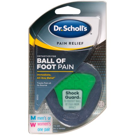 Dr. Scholl's Pain Relief Orthotics for Ball of Foot Pain, 1 Pair - One Size Fits