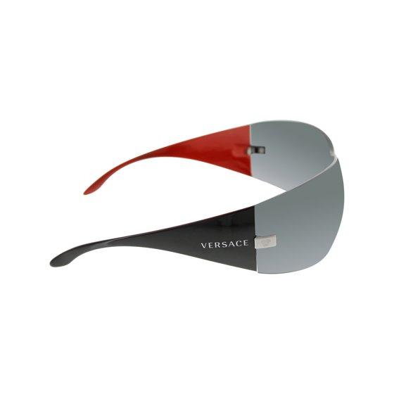 2585de7b2d8 Versace - Men s VE2054-100187-41 Black Shield Sunglasses - Walmart.com