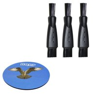 HQRP 3-pack Cleaning Brush for Philips Norelco QG3385 XA525 YS524 AT895 PT724 AT790 AT810 AT815...