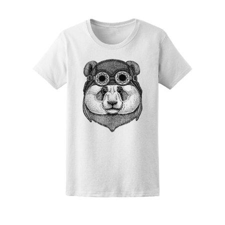 Aviator Bear - Panda Bear Aviator Tee Men's -Image by Shutterstock