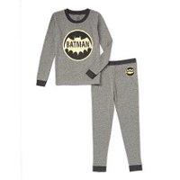 DC Comics Boys 'Batman Superhero Vintage Logo' Costume Pajama Set