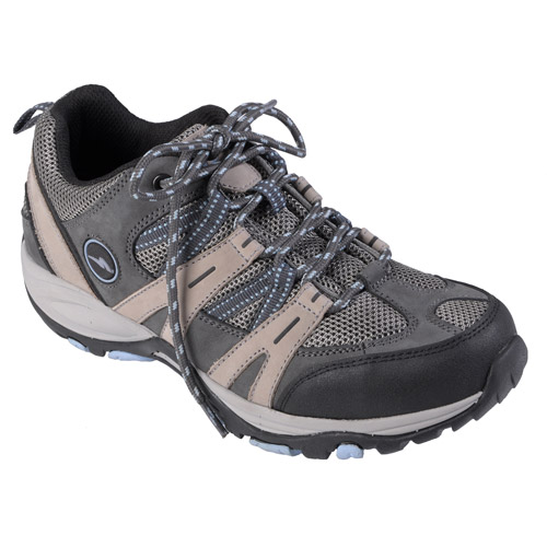 Brinley Sport Womens Lightweight Waterproof Lace-up Hiking Shoes