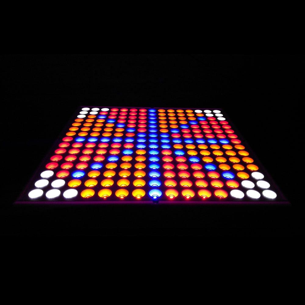 Zimtown 45W 2400LM 225-LED Red & Blue & Orange & White Light Indoor Garden Plant Grow Light Hanging Light Si - image 3 de 7