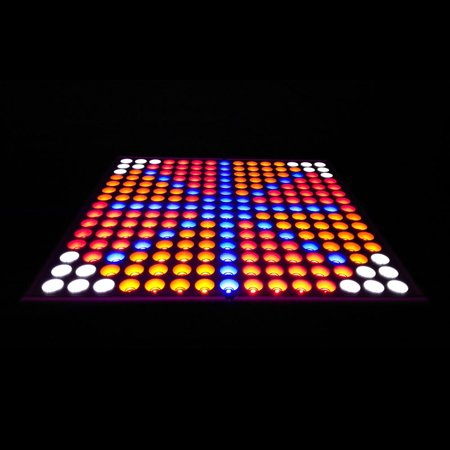 Zimtown 45W 2400LM 225-LED Red & Blue & Orange & White Light Indoor Garden Plant Grow Light Hanging Light Si - image 3 of 7