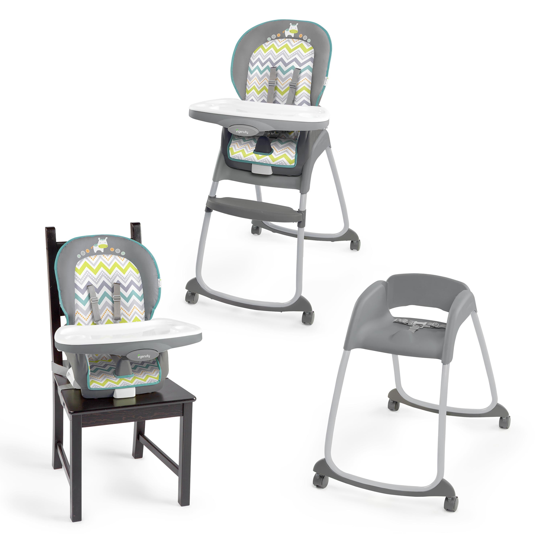 ingenuity trio 3 in 1 high chair ridgedale - walmart
