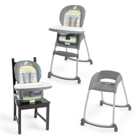 Ingenuity ridgedale collection playard swing high chair for Chaise haute fisher price