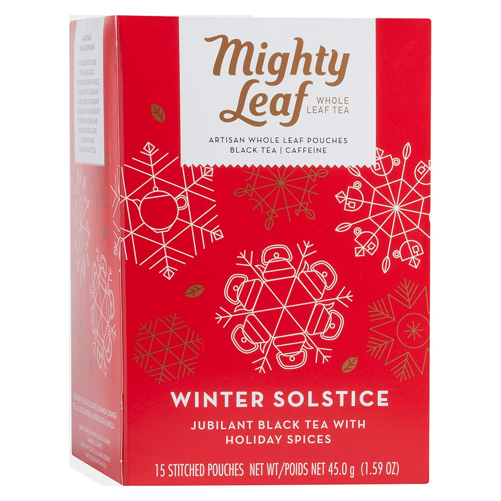 6 Packs : Mighty Leaf Tea, Winter Solstice, 15 Count
