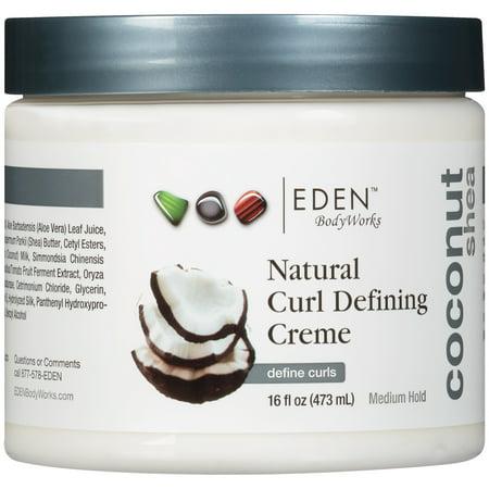 Eden Bodyworks Coconut Shea All Natural Curl Defining Creme  16 Fl Oz